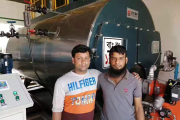 4Ton Gas Steam Boiler