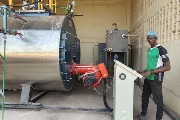 4Ton/hr oil fired steam boiler