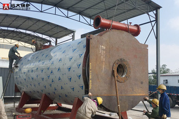 7MW Gas Fired Thermal Oil Boiler