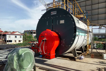 15ton gas steam boiler