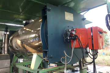 gas thermal oil boiler. heating oil boiler