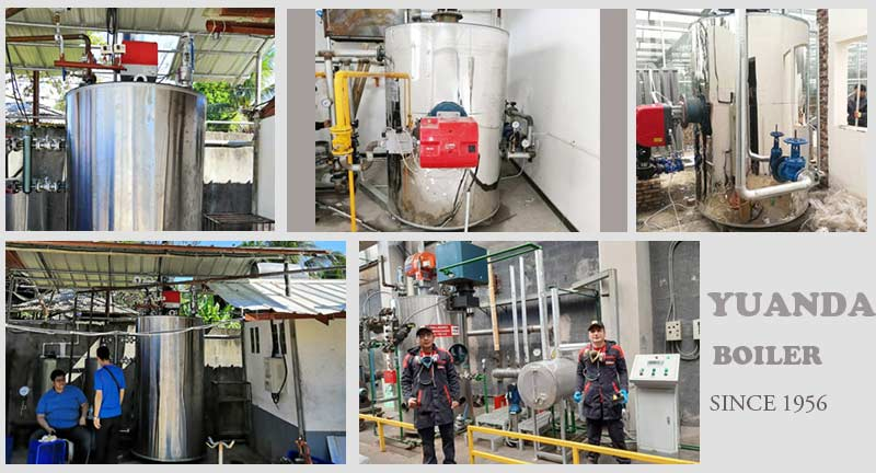 Vertical Boiler Projects