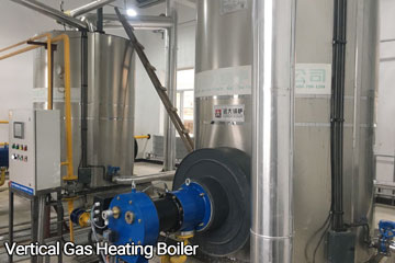 vertical gas hot water boiler