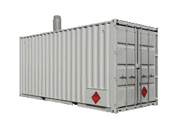 Portable Boiler(skid-mounted,container-room)